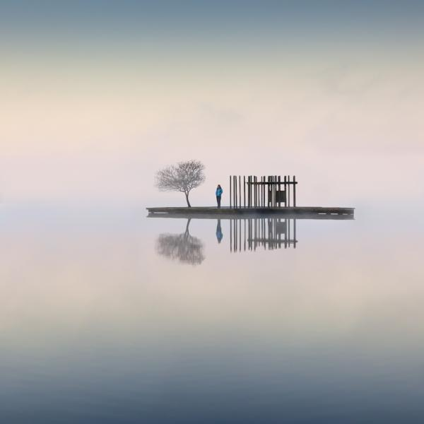 Oskar-Gaskoon-Amanece-en-el-lago
